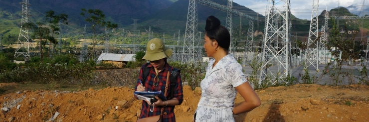 Ethnic Minority People survey - Song Bung 4 Hydropower plant project - Quang Nam